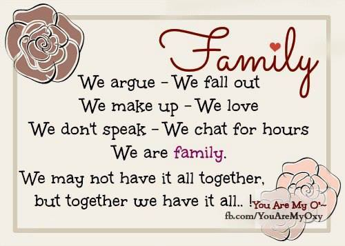 We Are Family Quotes: Christian Quotes About Family Reunions. QuotesGram