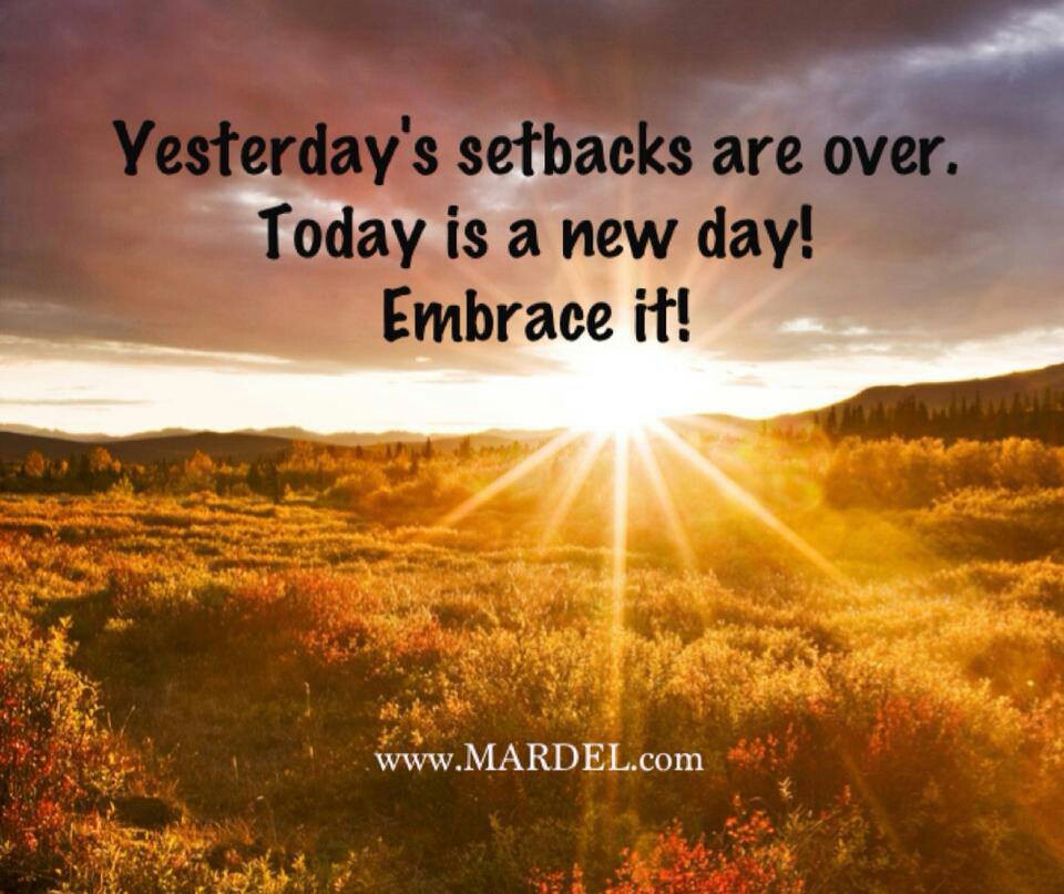 Inspirational Day Quotes: Today Is A New Day Quotes. QuotesGram