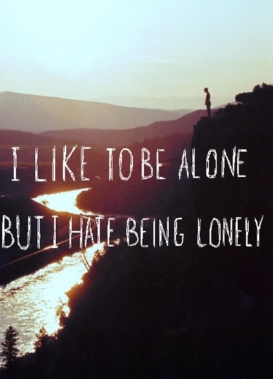 how to keep from being lonely