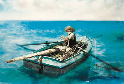 an analysis of the main character in the old man and the sea