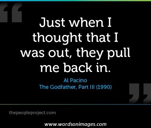 Al Pacino From Godfather Quotes. QuotesGram