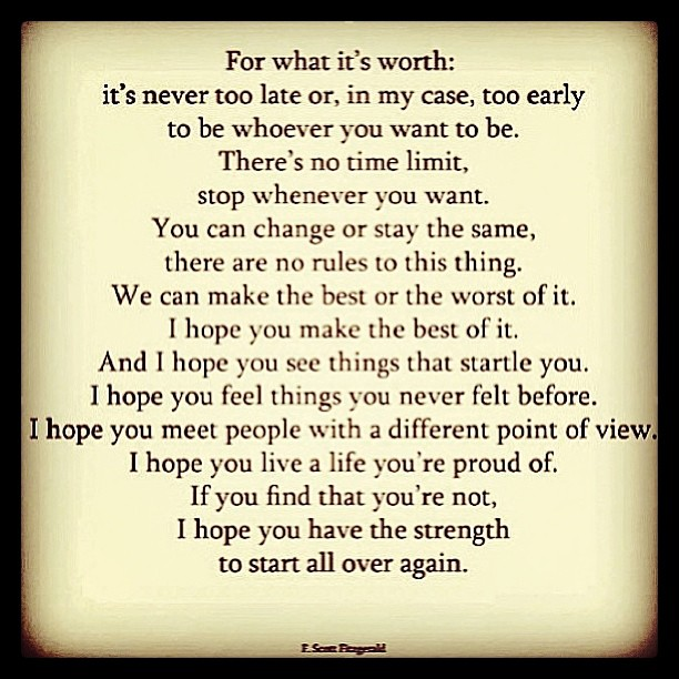 Image Result For F Scott Fitzgerald Inspirational Quotes