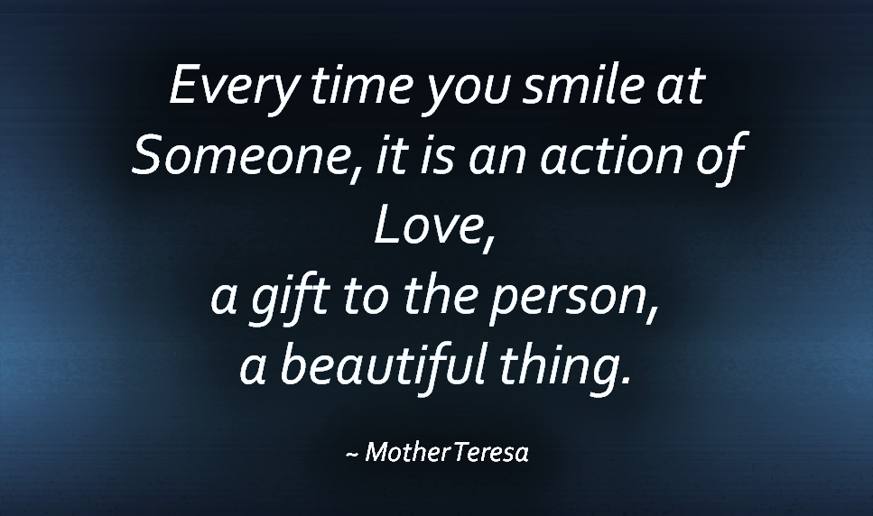 Smile Mother Teresa Quotes. QuotesGram