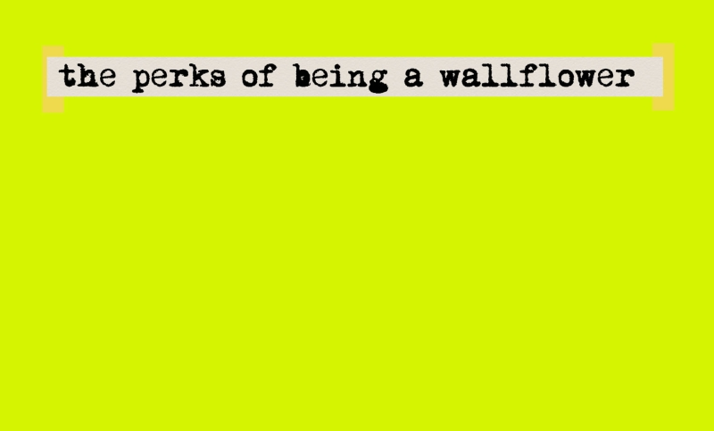 the perks of being a wallflower book essay The perks of being a wallflower study guide contains a biography of stephen chbosky, literature essays, quiz questions, major themes, characters, and a full summary.