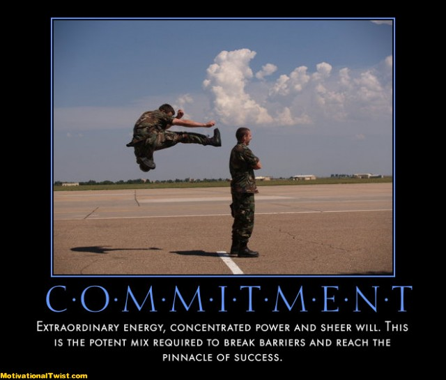 Inspirational Quotes On Commitment. QuotesGram