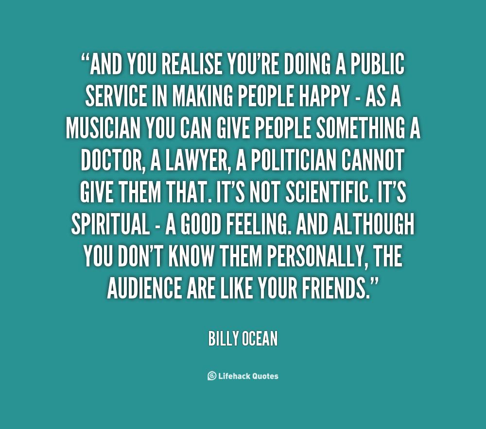 Inspirational Quotes About Positive: Public Service Inspirational Quotes. QuotesGram