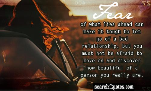 how to move on and let go relationship