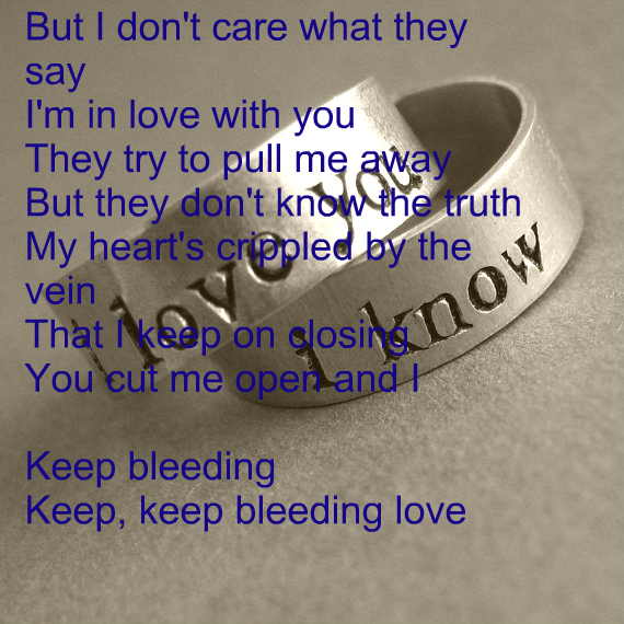 Bleeding Emo Quotes: Bleeding Quotes About Love. QuotesGram