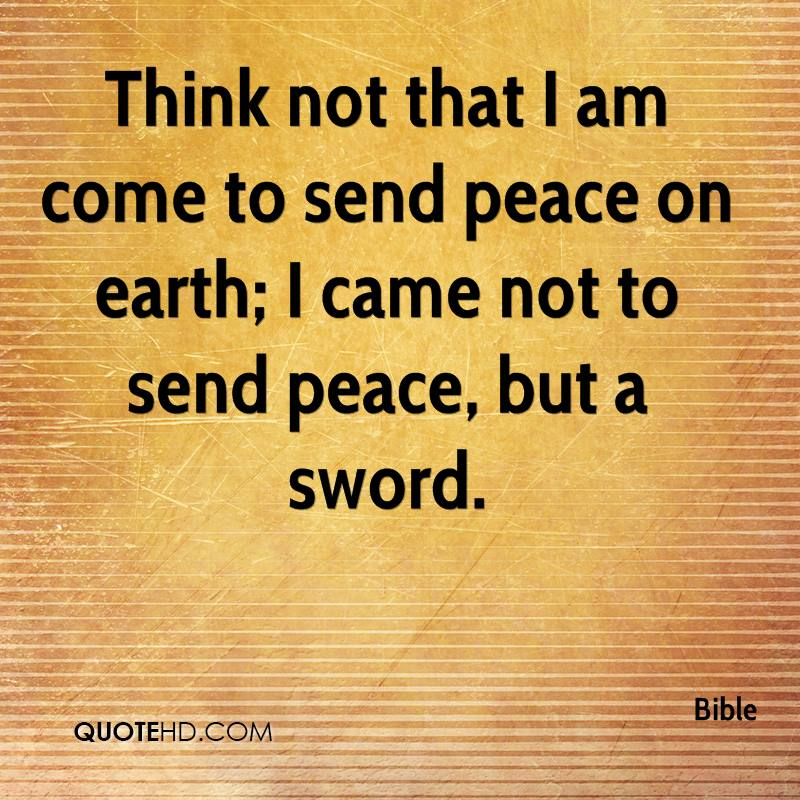 Bible Quotes Revenge: Bible Quotes Peace On Earth. QuotesGram