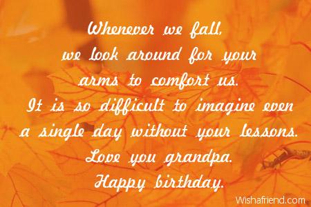 Grandfather Birthday Quotes. QuotesGram