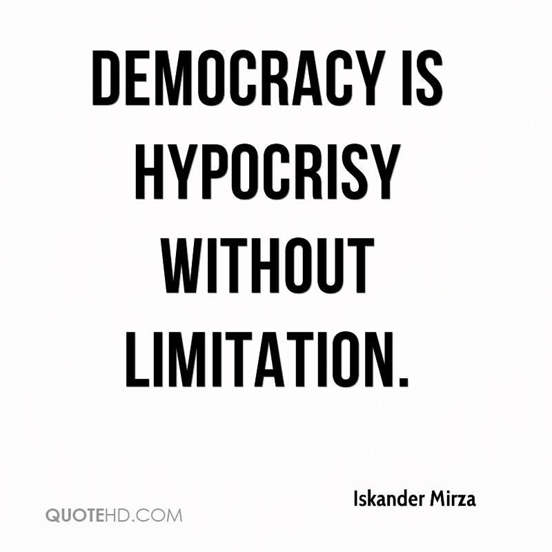 hypocrisy in democracy I call on the us to stand by those who share your principles of freedom and democracy, and that is not the moslem brotherhood and their puppet president.