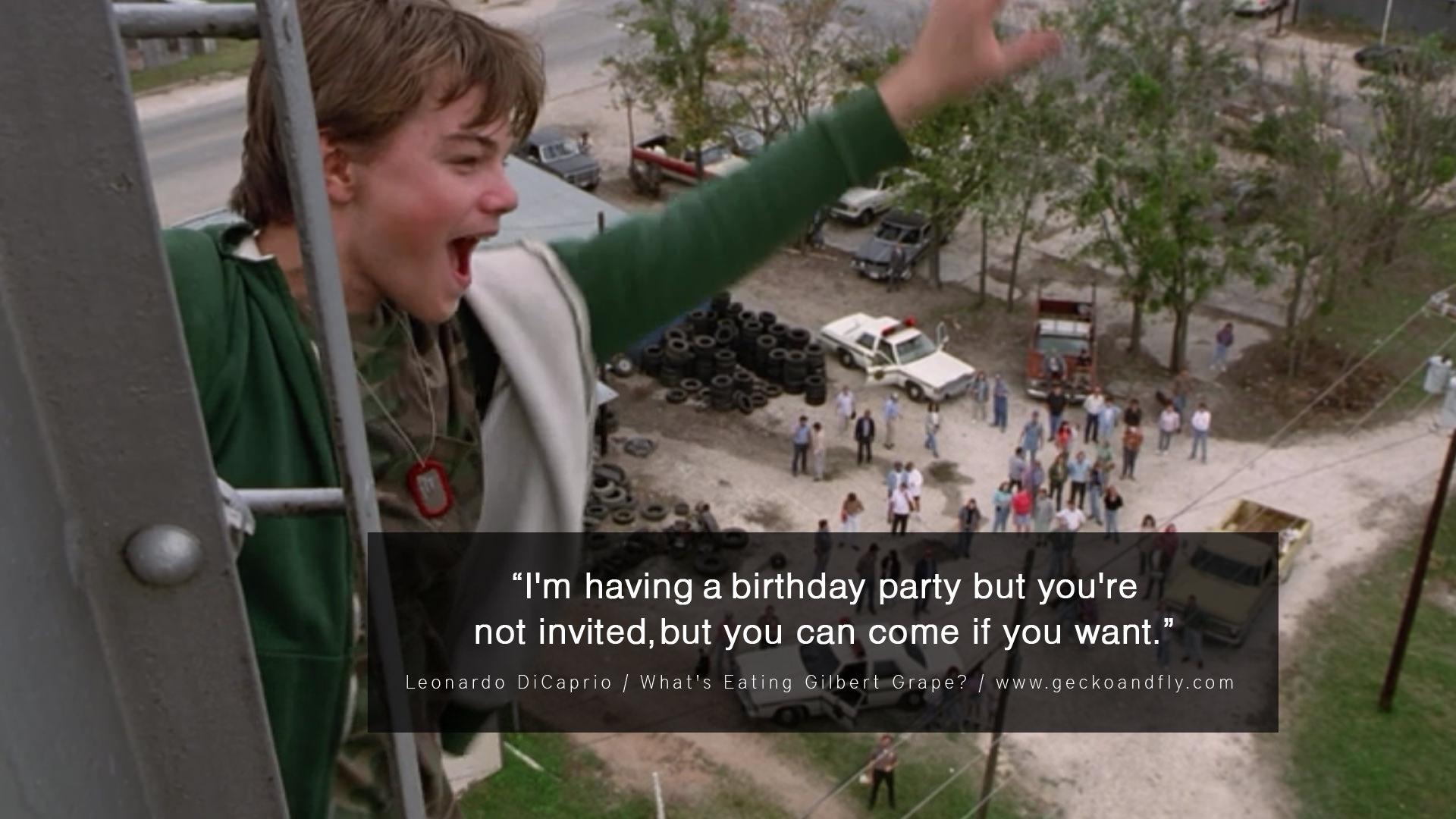 Leonardo Dicaprio Movie Quotes. QuotesGram