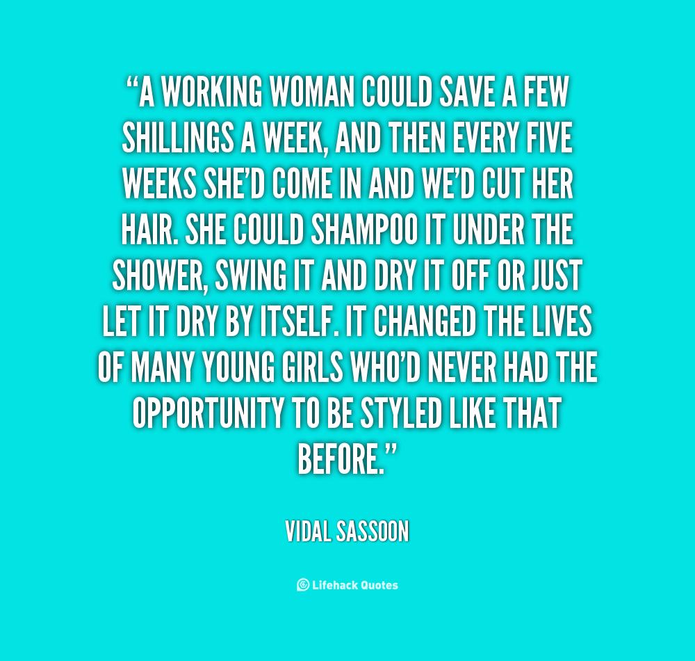 Hair Vidal Sassoon Quotes Quotesgram