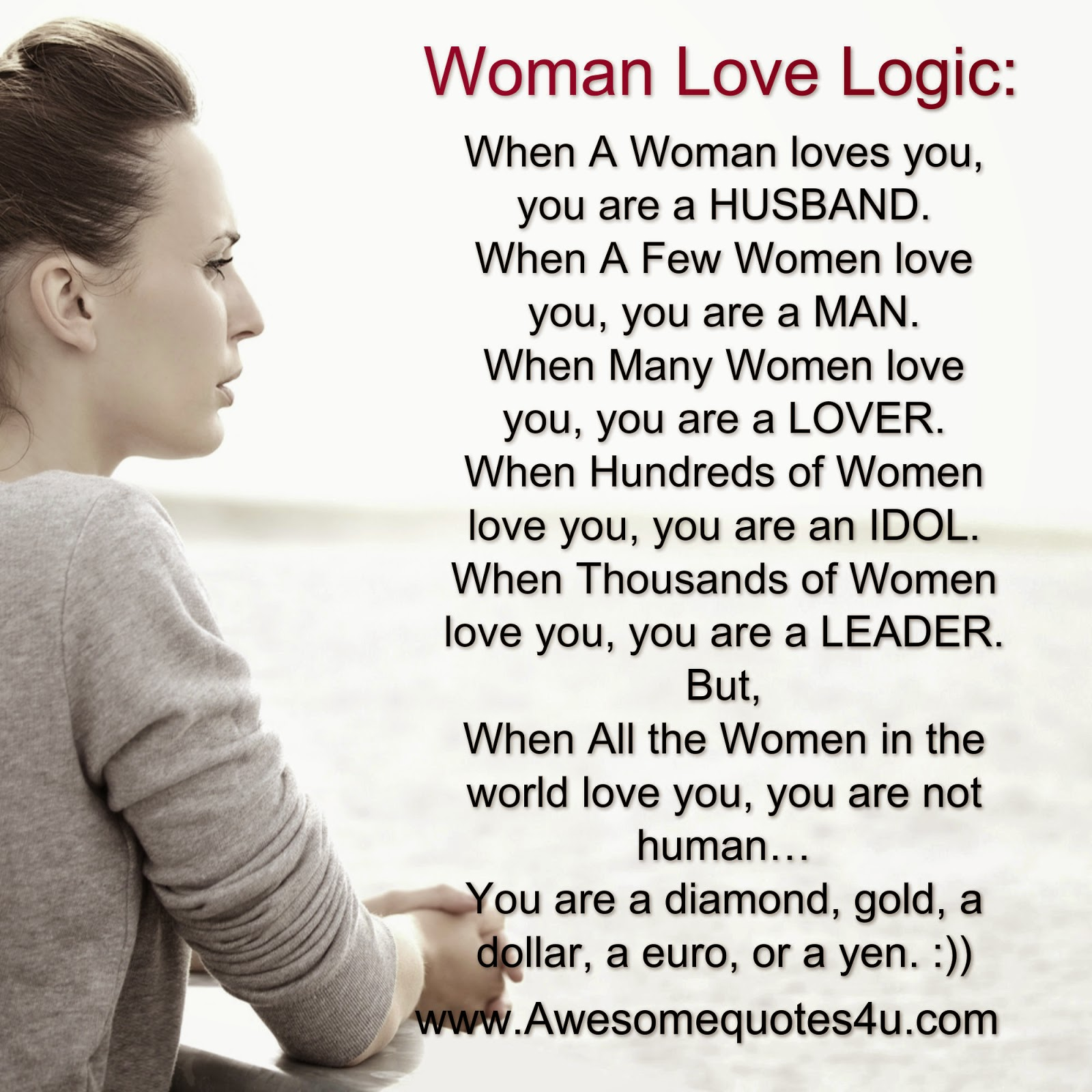 Women Logic Quotes. QuotesGram