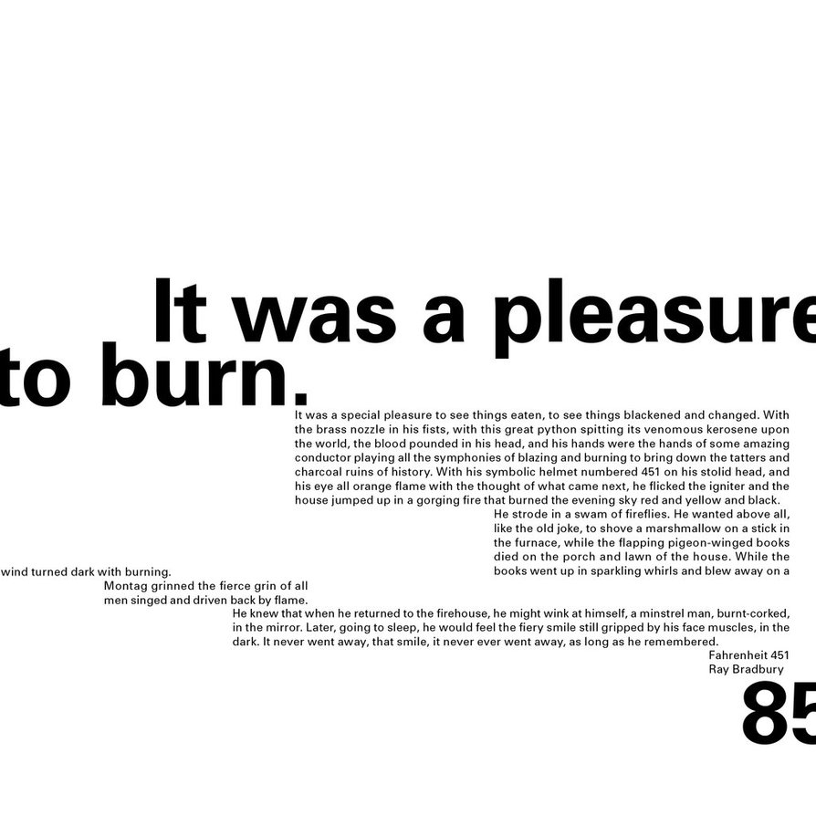 Fahrenheit 451 Quotes With Pages. QuotesGram