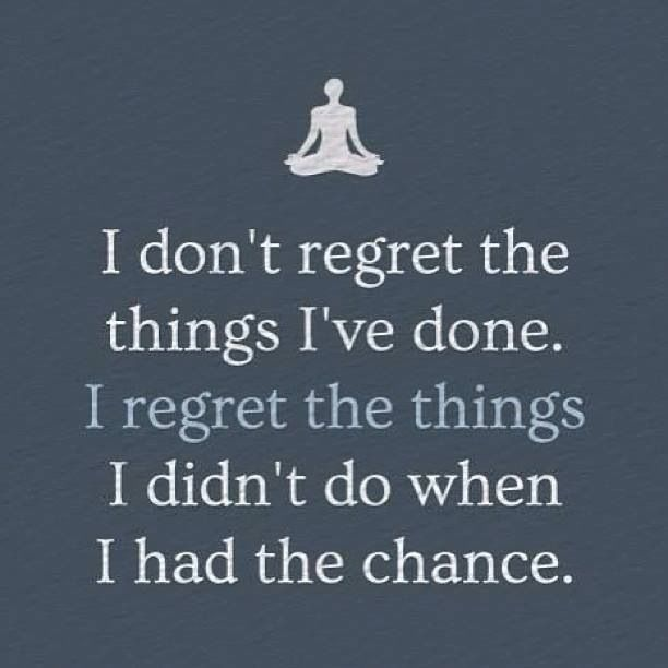 Quotes and sayings regret Regret Proverbs