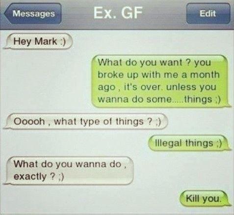Boyfriend for teasing jokes Is my