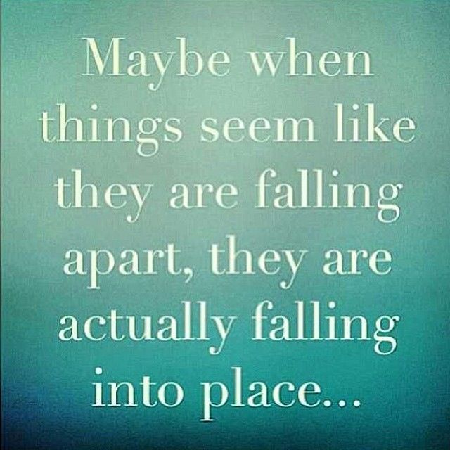 Falling Apart Inspirational Quotes: When Things Fall Apart Quotes. QuotesGram
