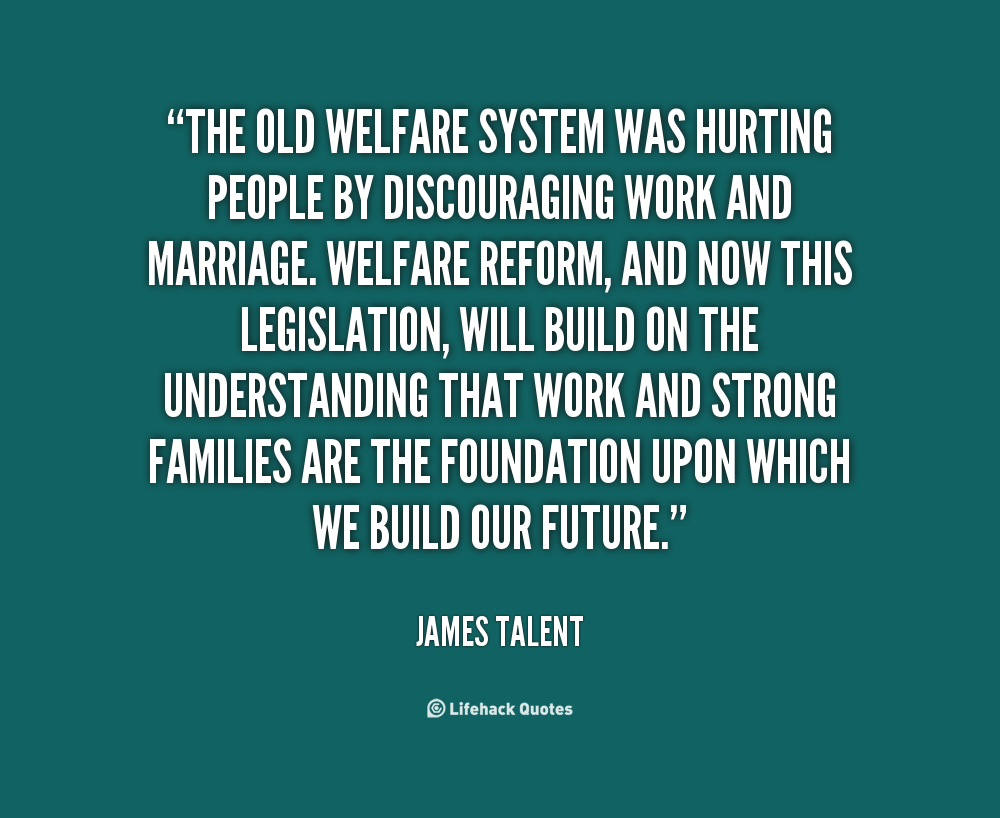 the welfare program The means-tested welfare system consists of 80+ low-income programs providing cash, food, housing, medical care, and social services to the poor.