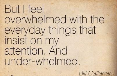 Feeling Overwhelmed Wi...