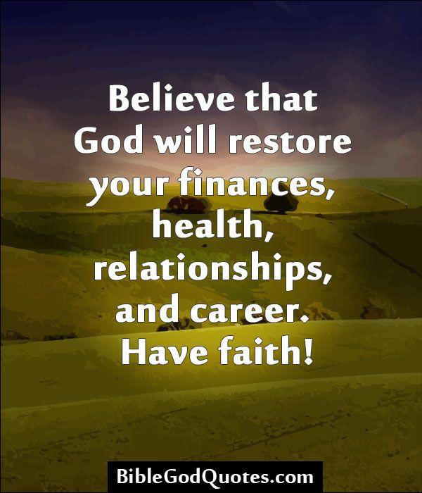 restoration of relationship