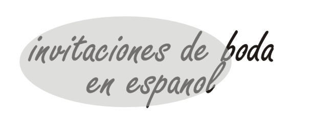 Invitations In Spanish For Wedding