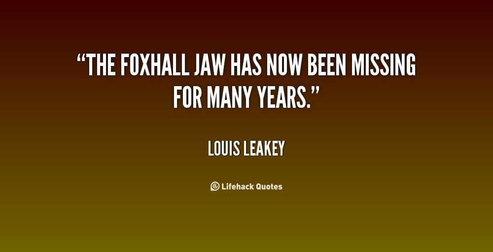 Louis Leakey Quotes. QuotesGram