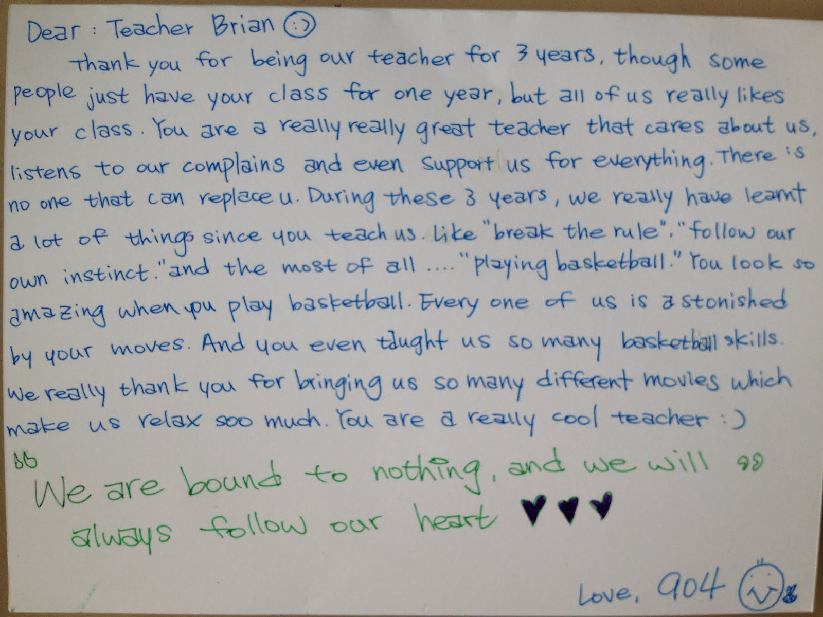 Good Luck Letter To Best Friend