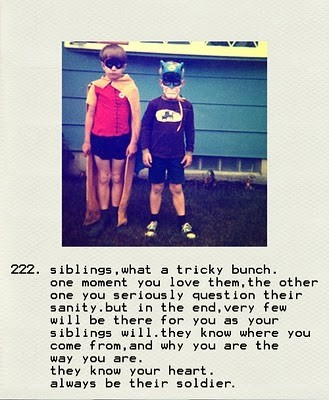 brother and sister quote tumblr relationship