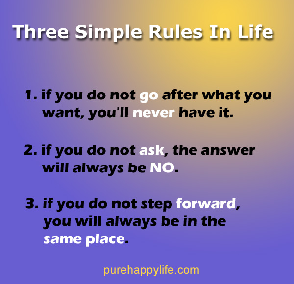 Quotes life rules of Quotes from