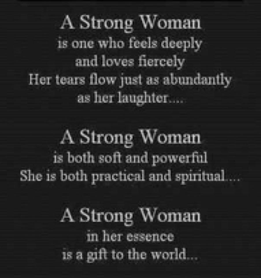 Single women in strong