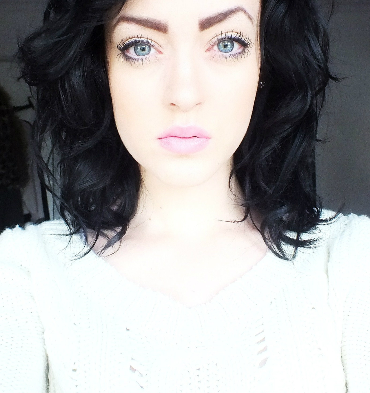 Pale green blue eyes