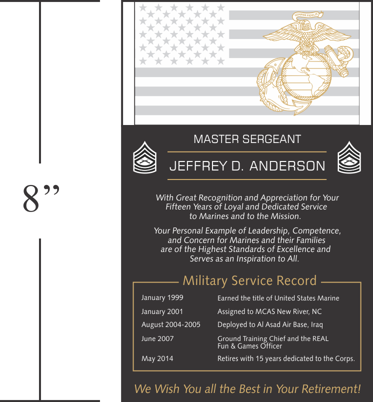 Going Away Quotes For Military Plaques: Military Retirement Plaque Quotes. QuotesGram