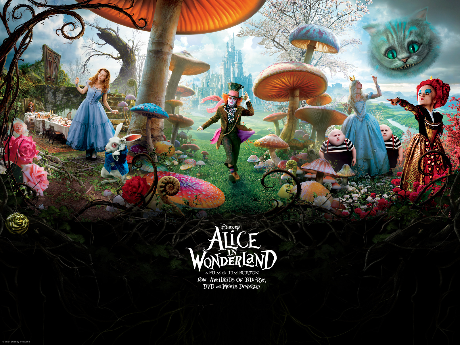 alice in wonderland quotes wallpaper quotesgram. Black Bedroom Furniture Sets. Home Design Ideas