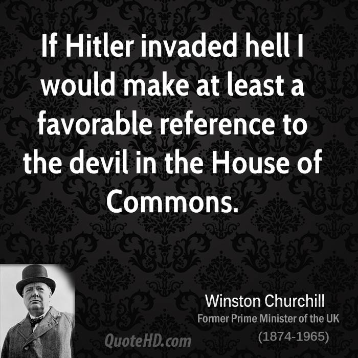 Hitler Quotes On Youth: Churchill Quotes About Hitler. QuotesGram