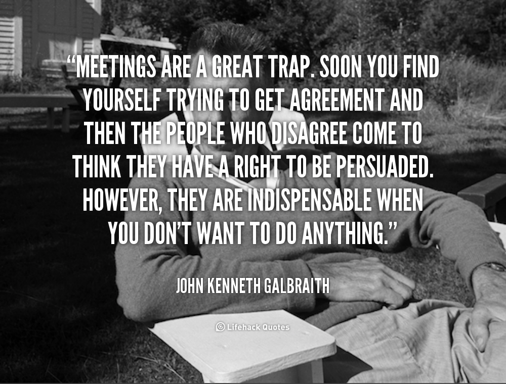 Famous Quotes About Meetings. QuotesGram