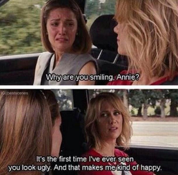 Bridesmaids Movie Pictures With Quotes: Funny Chick Flick Movie Quotes. QuotesGram