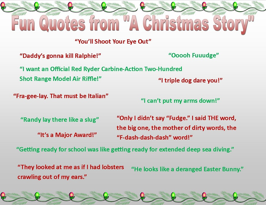 Quotes From A Christmas Story. QuotesGram