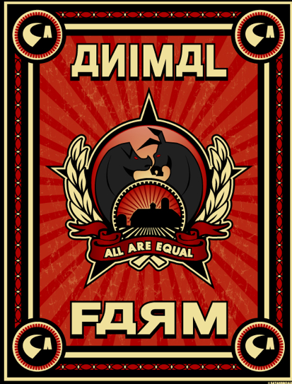 an analysis of the movie animal farm - animal farm is a story about animals who take over a farm and run it animal farm animal farm is a story about animals who take over a farm and run it that is the surface meaning of the book, for it is really based on the russian revolution when the people over threw the tsar, king, and took control of russia.