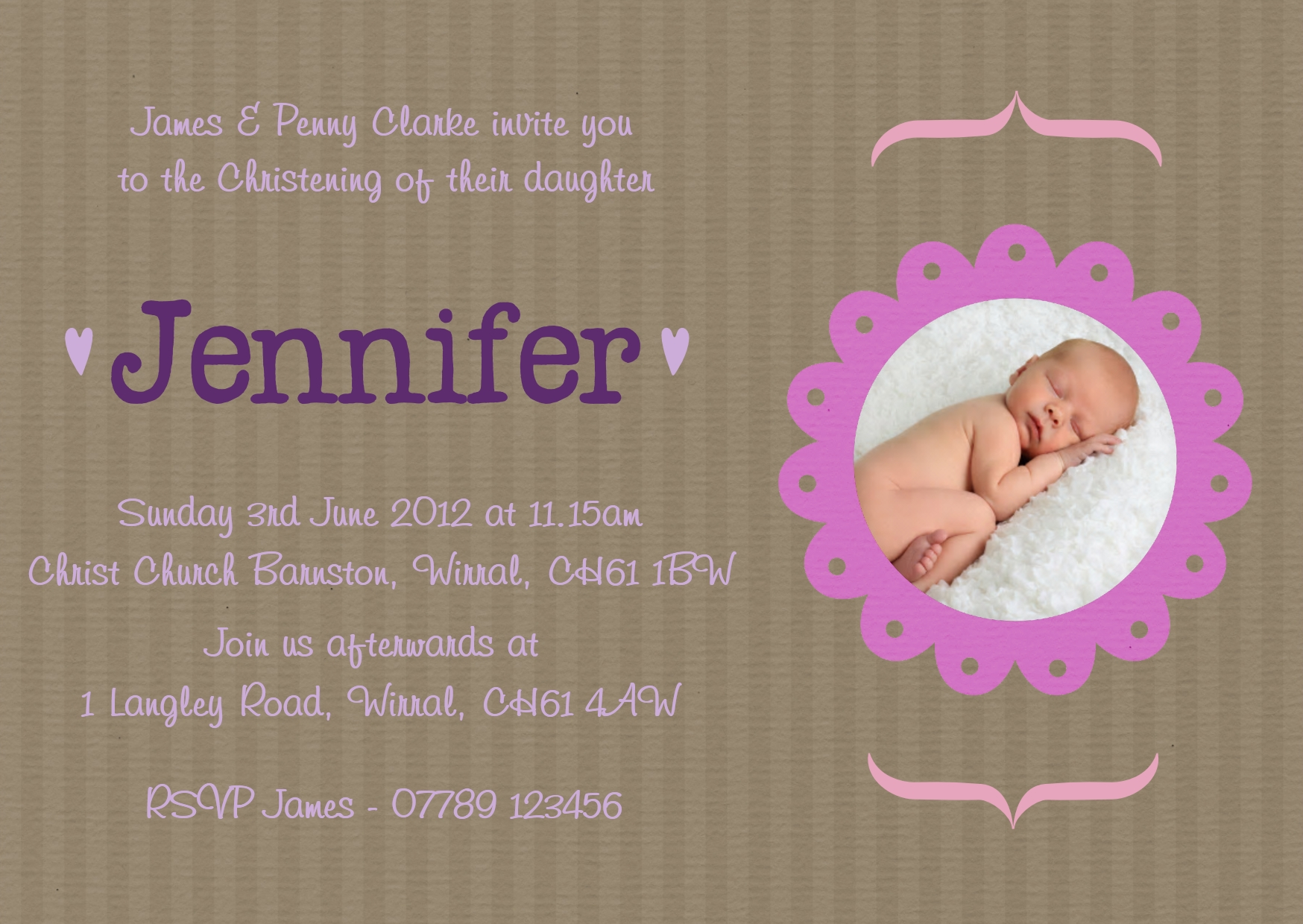 Christening Baby Girl Quotes. QuotesGram