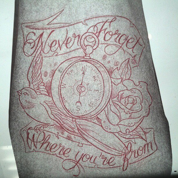 Tattoo Quotes Compass: Compass Rose Drawings With Quotes. QuotesGram