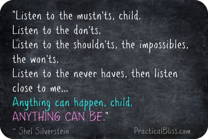 Inspirational Quotes From Shel Silverstein: Shel Silverstein Quotes About Life. QuotesGram