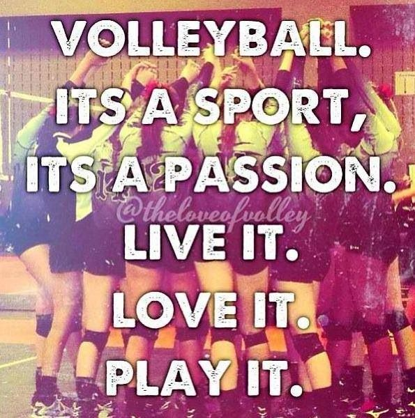 Volleyball Pictures And Quotes: Volleyball Quotes For Last Game. QuotesGram