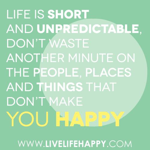 Life Is Unpredictable Quotes. QuotesGram