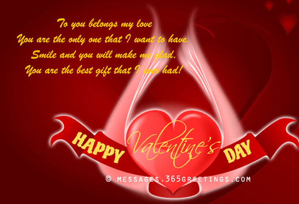 Valentine Card Messages For My Husband Valentine Day – Valentine Cards with Messages
