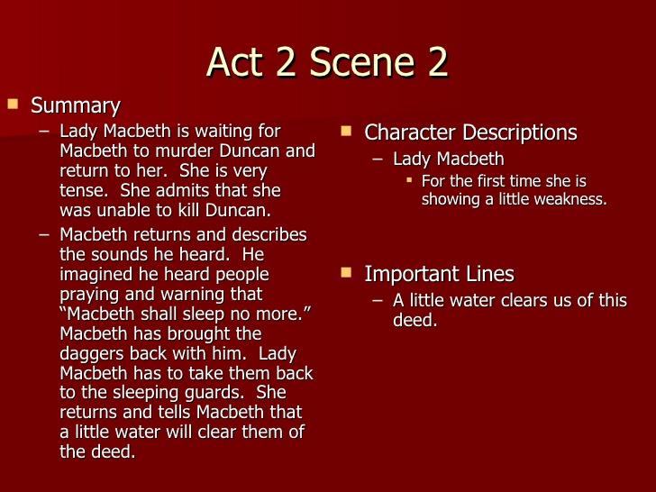 Macbeth quotation analysis act i