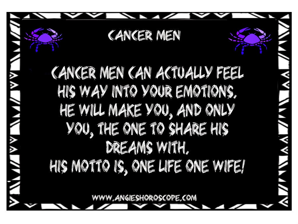 Cancer Zodiac Quotes Images: Zodiac Cancer Man Quotes. QuotesGram