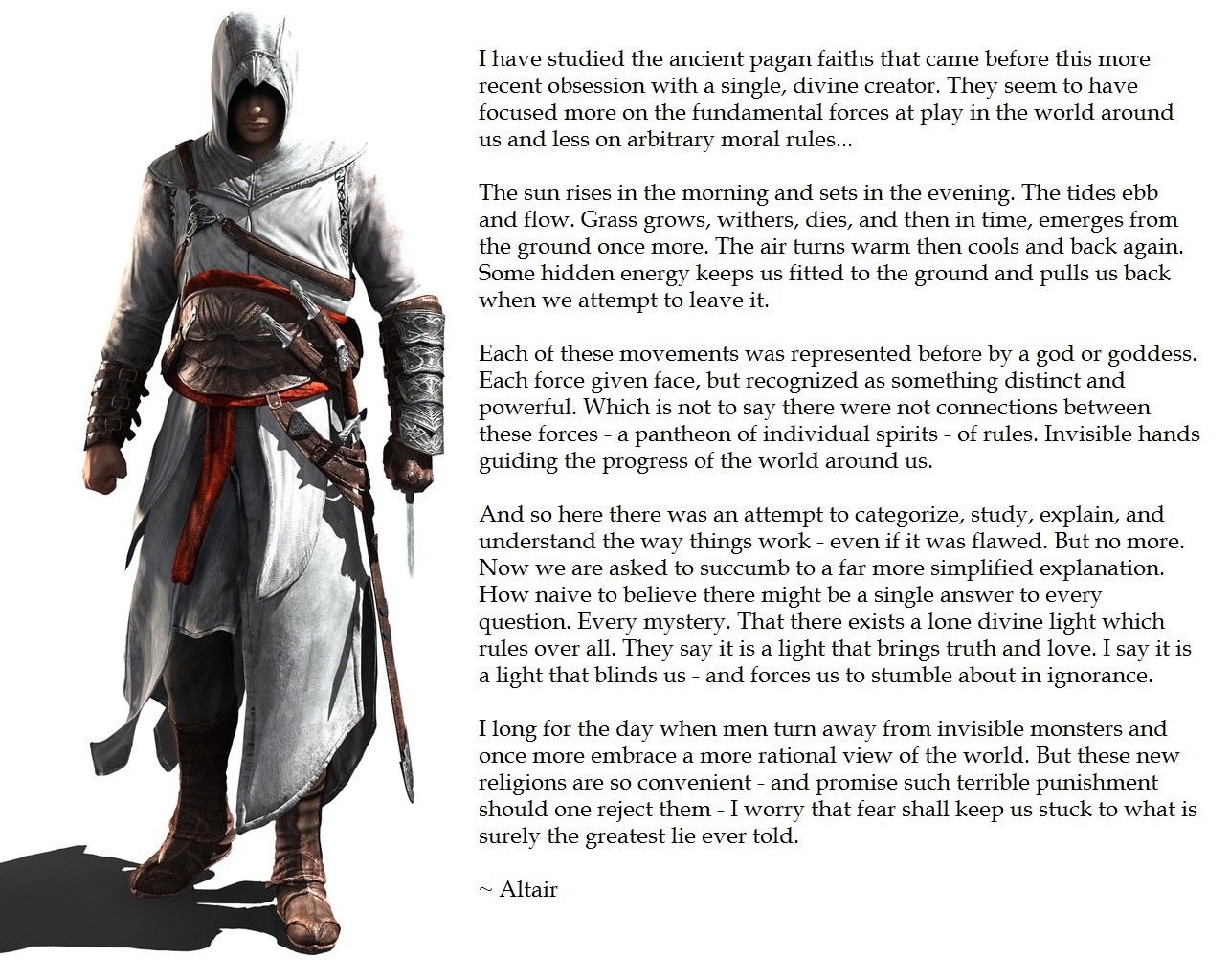 Assassins Creed Altair Quotes Quotesgram