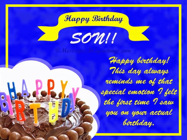 Pinterest Birthday Quotes: Pinterest Birthday Quotes Son Only. QuotesGram
