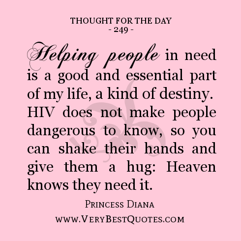 Assisting People In Need Quotes. QuotesGram